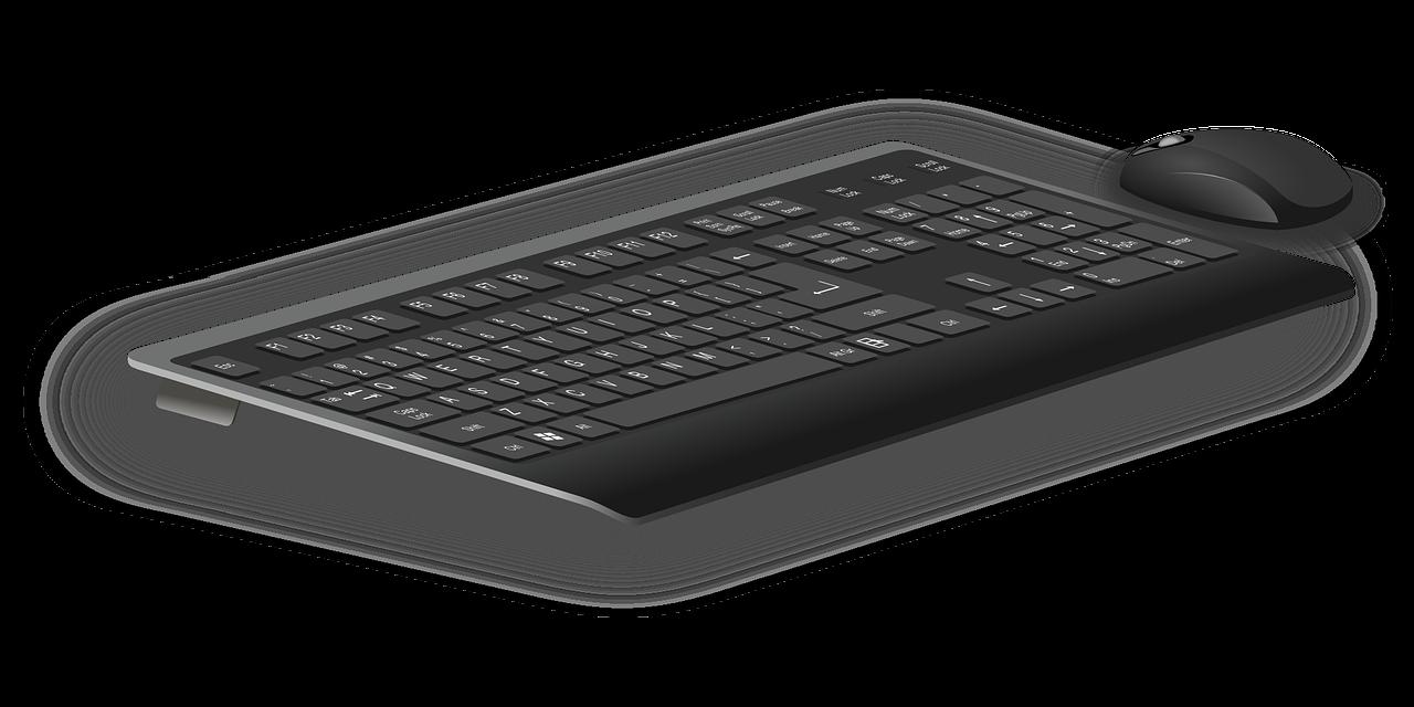Datortillbehör: tangentbord och datormus