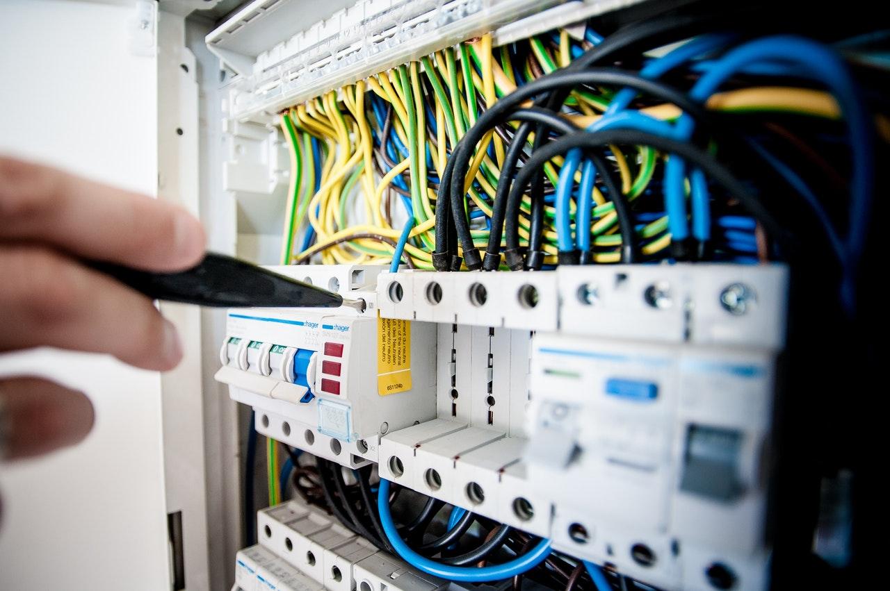 Kabel-Tv central